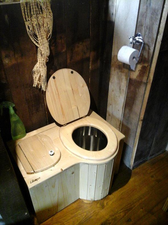 Les toilettes sèches : Pas de bruit, pas d'odeur et super écologique..!