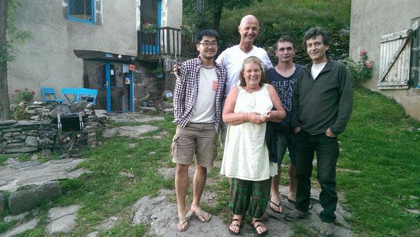 Chine-Belgique-Lot-Nice : Que de rencontres enrichissantes..!