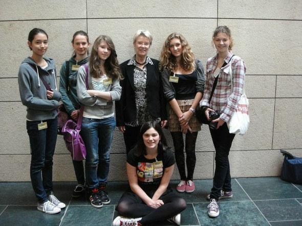 Meine Girls'Day Teilnehmerinnen 2012