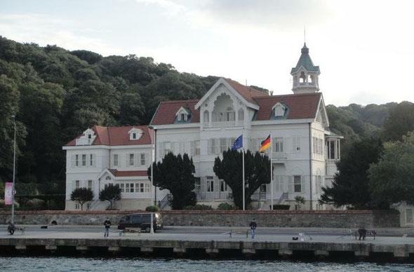Die Villa Tarabya