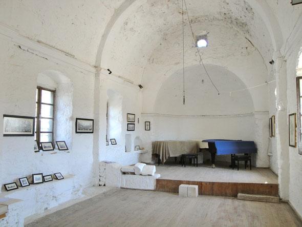 Eklisia- der Konzertraum