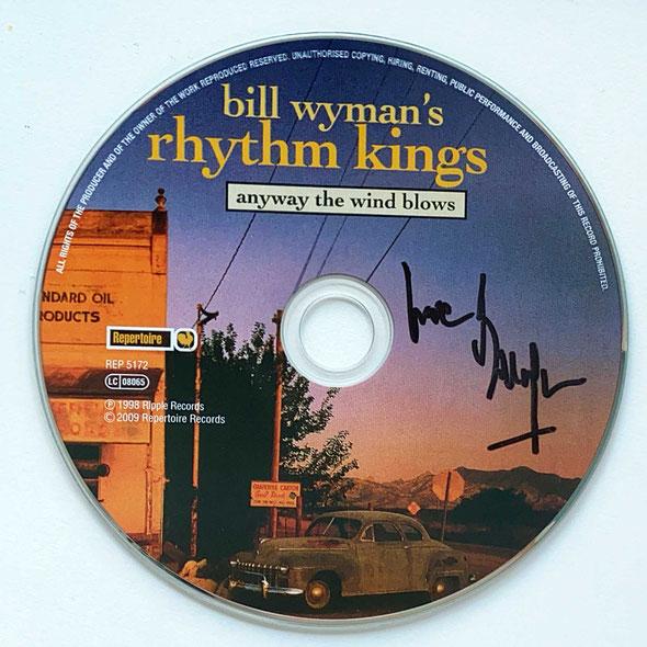 Autograph Bill Wyman Autogramm