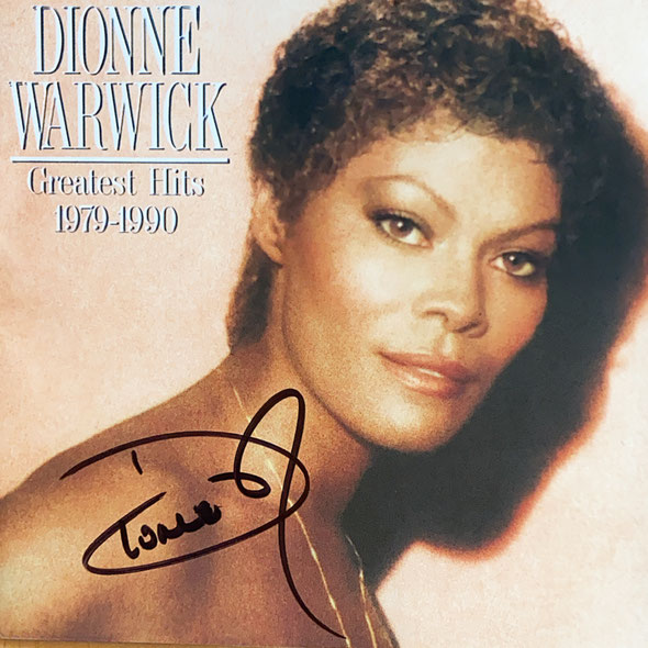 Autograph Dionne Warwick Autogramm