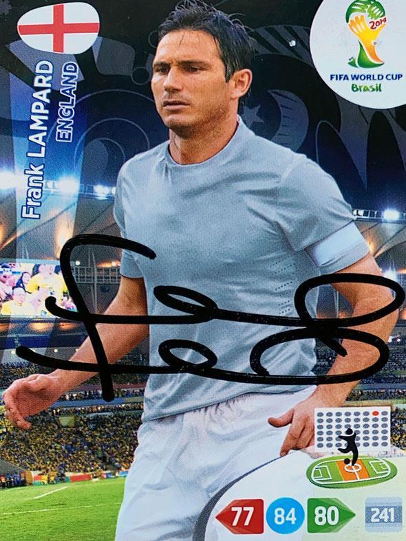 Autograph Frank Lampard Autogramm