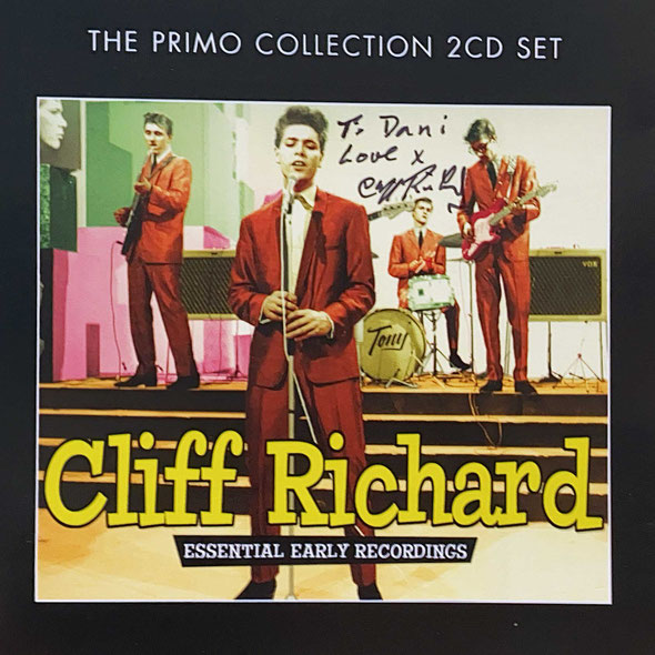 Autograph Cliff Richard Autogramm