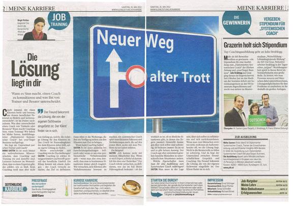 Kleine Zeitung - Beilage Job & Karriere vom 26.05.2012