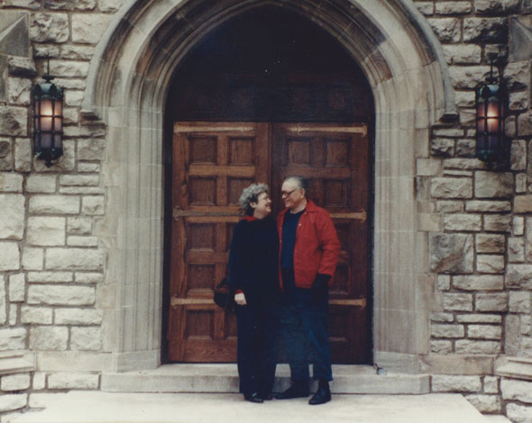 Re-Visiting our Wedding Chapel at Park College