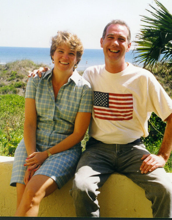 Steven and Kate - April 1999 - in Florida - Steve 44 years old