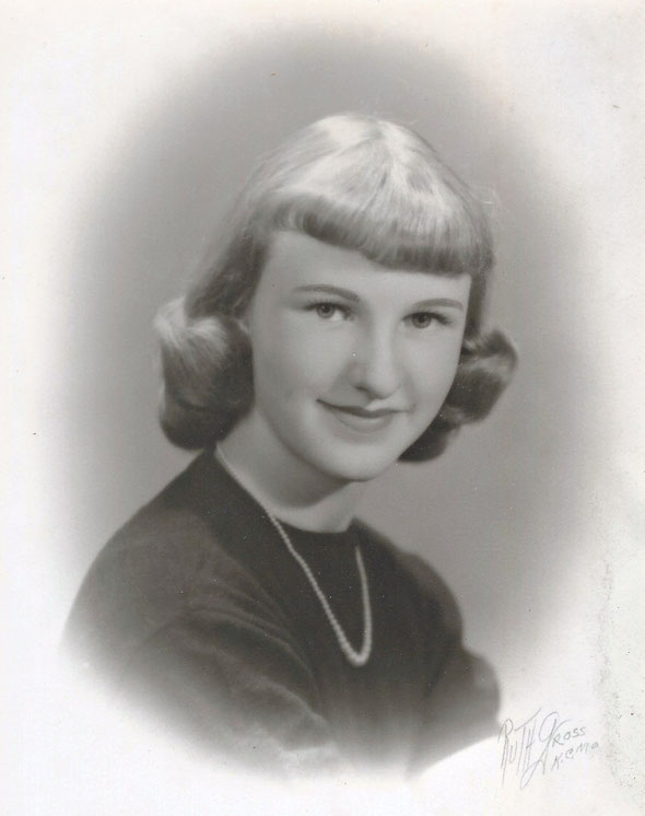 Roger's Cousin LYN (his mother's youngest sister's daughter)