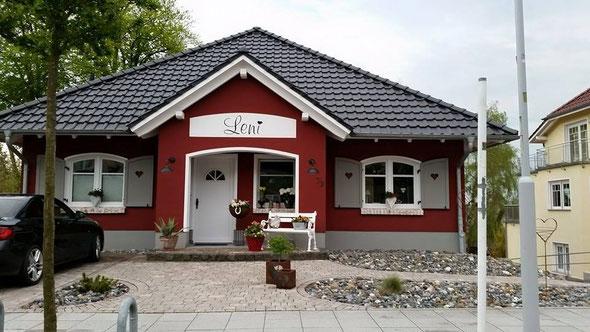 """Das """"Leni-Haus"""" auf Rügen. Danke Nadine Rudorf für das Foto!"""