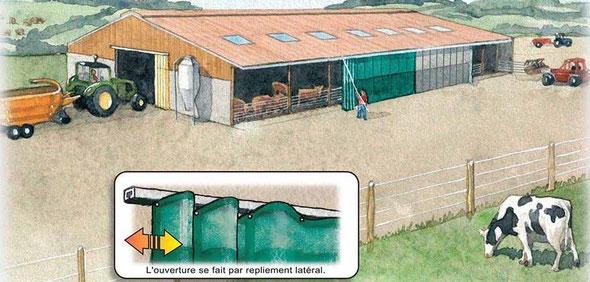 filets brise vent agricoles agritechnologies. Black Bedroom Furniture Sets. Home Design Ideas