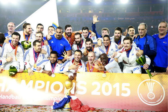 Les Experts, champion du monde 2015 au Quatar