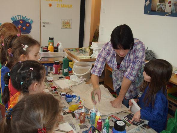 Kreativworkshop für Kinder Unterschleissheim