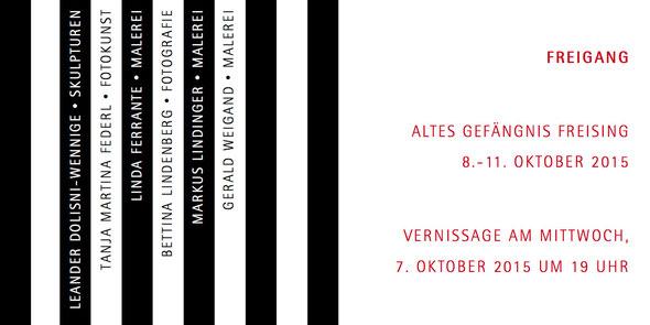 Altes Gefängnis Freising - Vernissage und Ausstellung Linda Ferrante