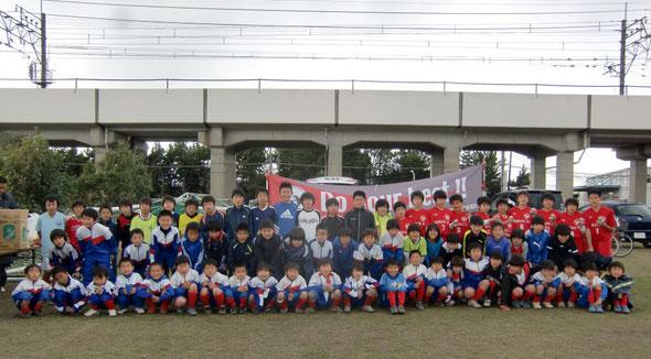 20120325親子サッカー&卒団式