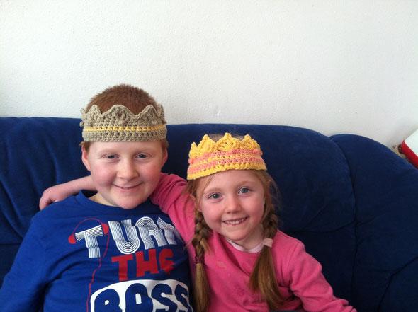 Krone David und Abigail