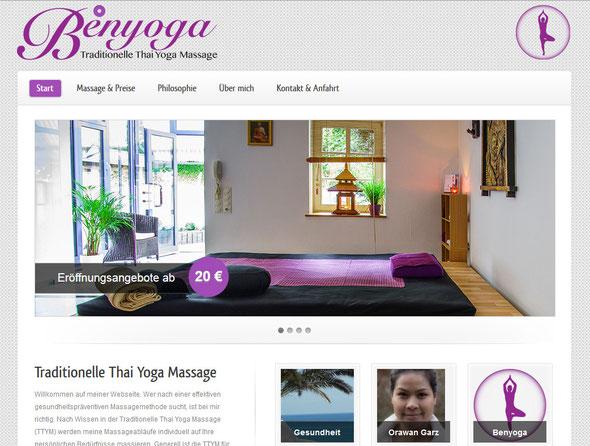 Thai-Massage Bergisch Gladbach Benyoga