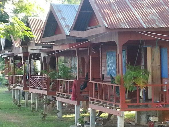 Übernachtung in Naka Sang am Mekong