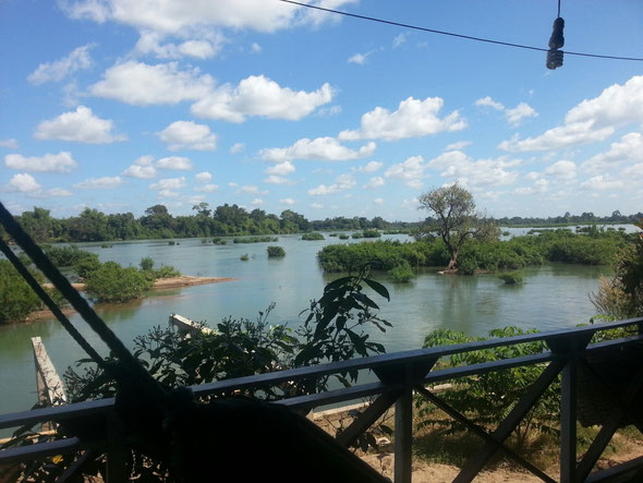 Mekong Delta - 4000 Islands nahe der Grenze zu Kambodscha