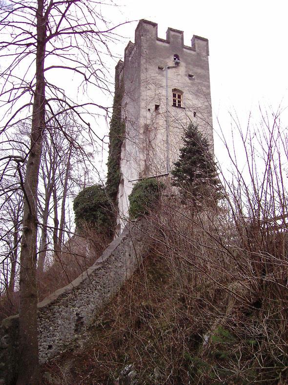 Burg Falkenstein bei Flintsbach
