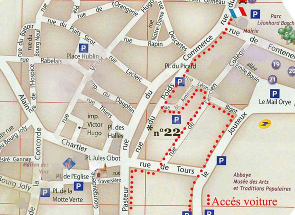 22 rue du poids Bourgueil