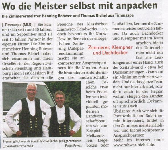 Nortorf Journal Ausgabe August 2012