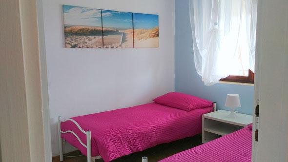 Camera da letto - 2 letti singoli cm 80x200