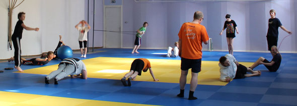 Athletiktraining JC Halle