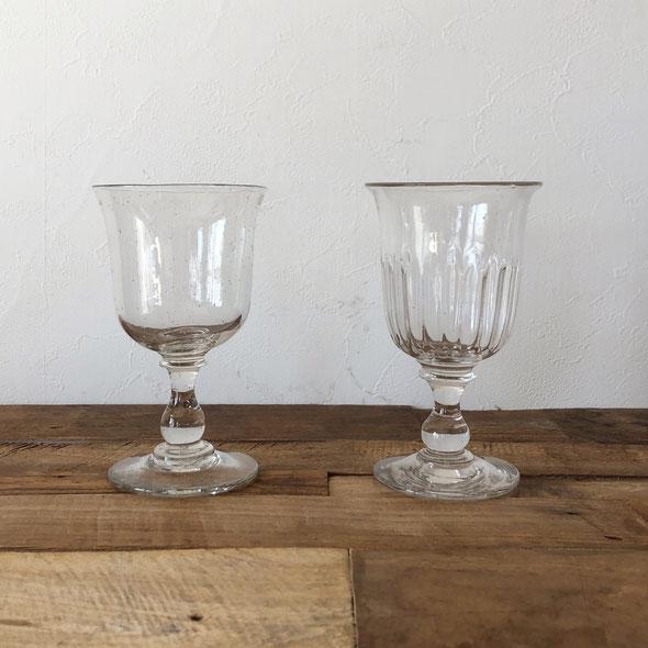 手吹きグラス フランス 1800年代