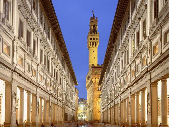 Uffizi Museum exterior