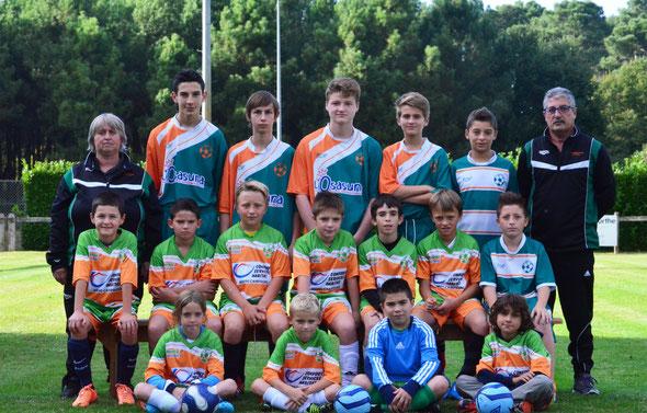 Les U11/U13/U15/U18 du Saint Perdon Sports - Saison 2014/2015