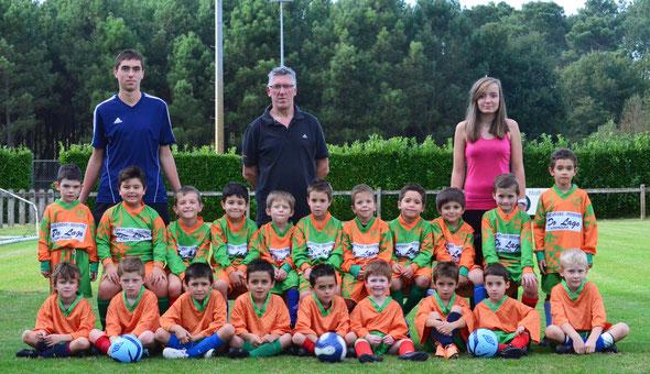 Les U7 du Saint Perdon Sports - Saison 2014/2015