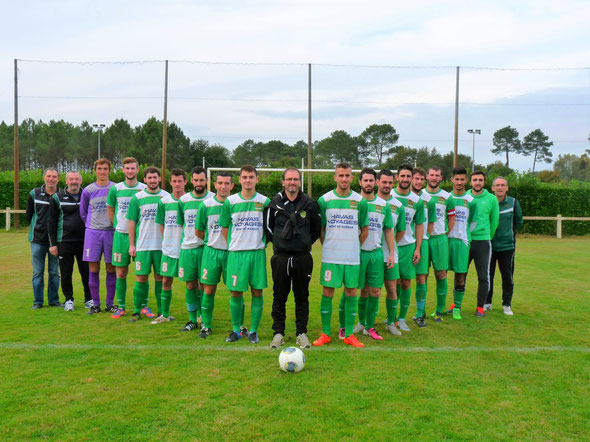 L'équipe fanion du Saint Perdon Sports - Saison 2015/2016