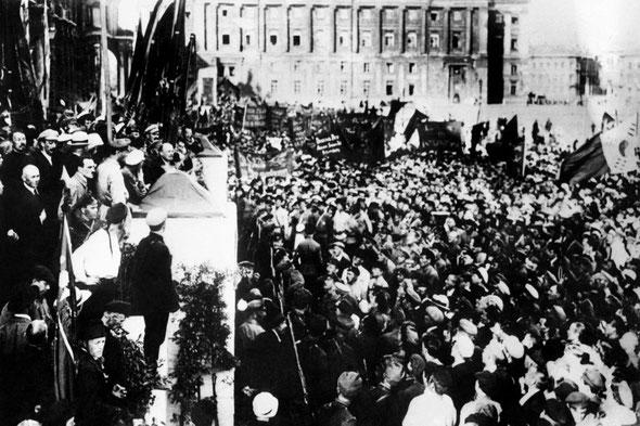 rivoluzione russa - 25 ottobre 1917 (7 novembre secondo il calendario occidentale)