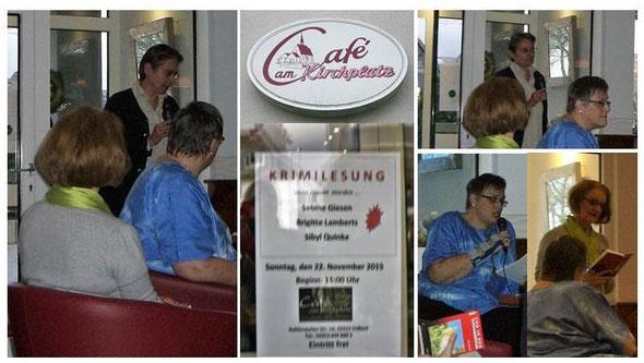 Lesung am 22.11.2015 im Café am Kirchplatz in Velbert-Tönisheide