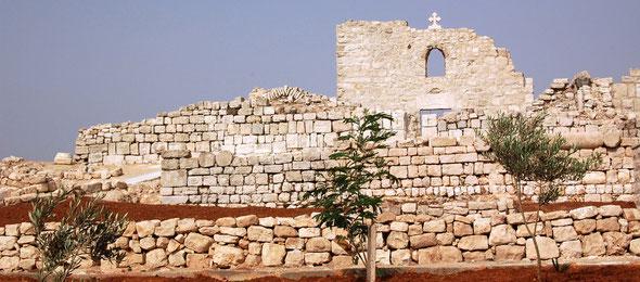 chantier archéologique El Khader, Palestine