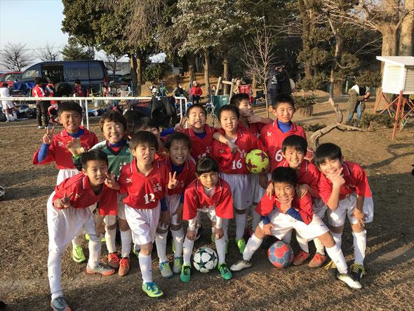 2018.1.20 上尾朝日FC招待交流大会 7位/10チーム