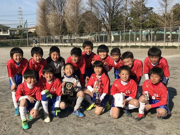 2019.3.2 三橋FCJ U-10交流試合大会 優勝