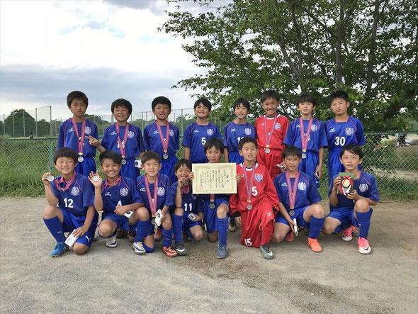 2018.5.4 上尾新緑杯Bクラス 準優勝