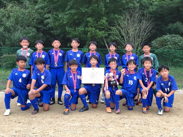 2018.10.8 上尾ライオンズクラブ杯5年生大会 第3位