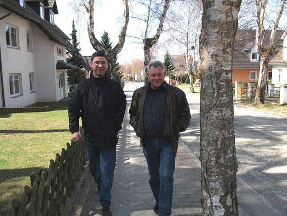 Matthias und Wolfgang Gloeck