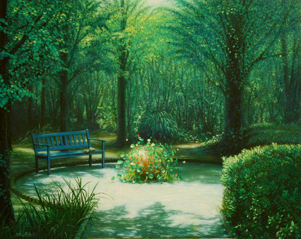 「Rest Place」 oil on canvas, F30