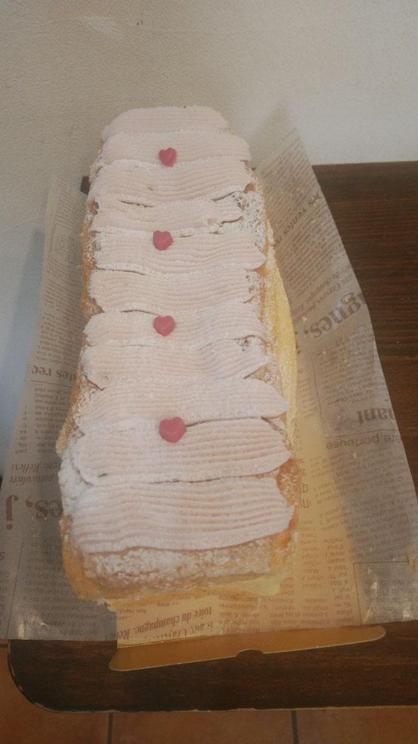 桜の生パウンドケーキ