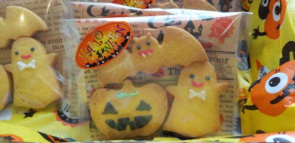 ハロウィン限定クッキーも☆