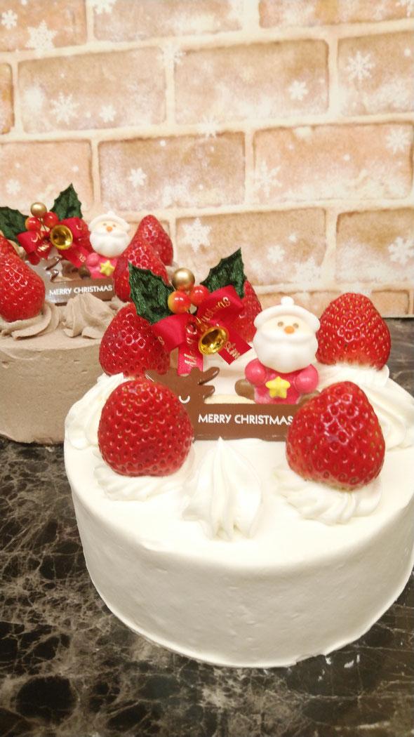 生イチゴケーキ