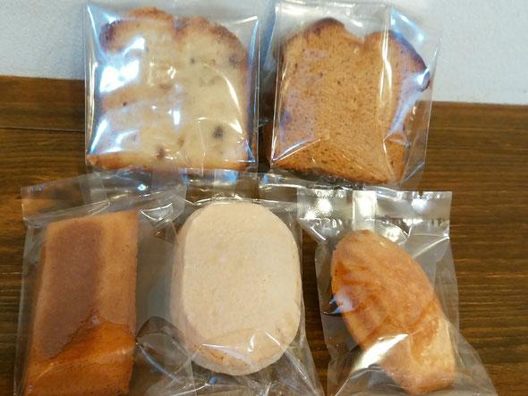 焼き菓子各種。