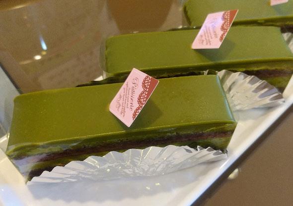 抹茶チョコレートケーキ