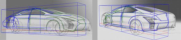 図5)ボディ合せで立体化し前後合体