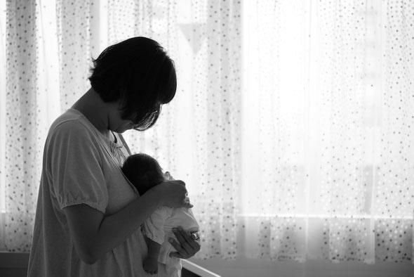 家族撮影 家族写真 出張撮影 名古屋 ファミリーフォト ウォレスともみ バースフォト 新生児