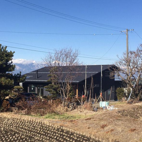 片丘の家Ⅱ(塩尻市)